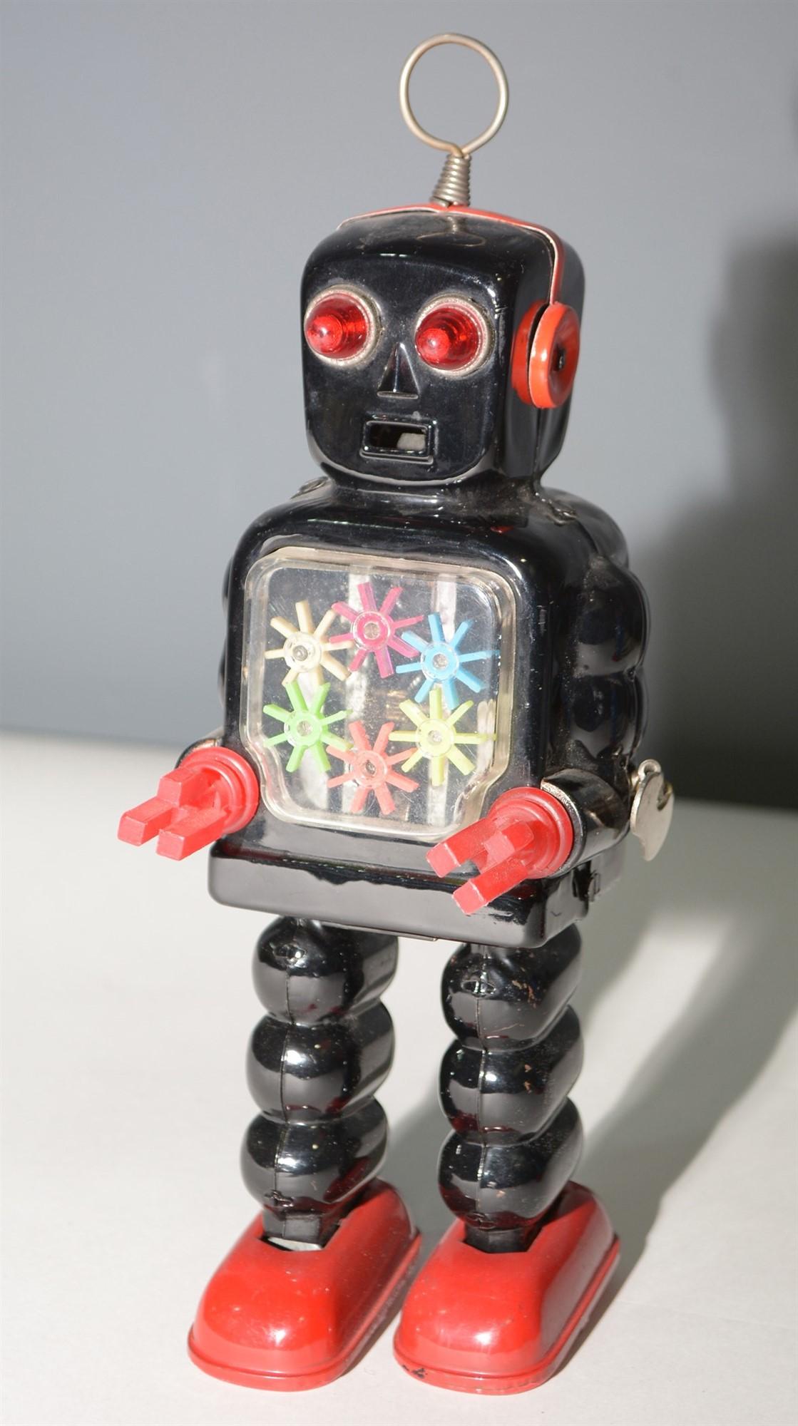Lot 1044 - KO tin plate Gear Robot