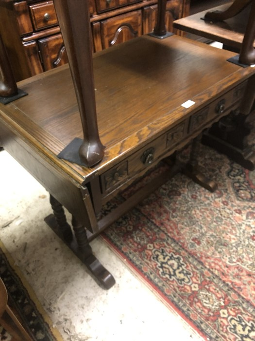 Lot 18 - An Old Charm, elm/oak sofa table