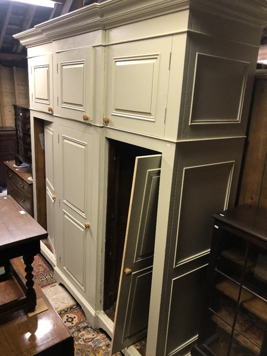 Lot 4 - Chalon Ltd, a substantial bespoke hand built country house kitchen comprising a large island with