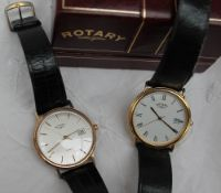 A 9ct yellow gold Gentleman's Rotary wristwatch,
