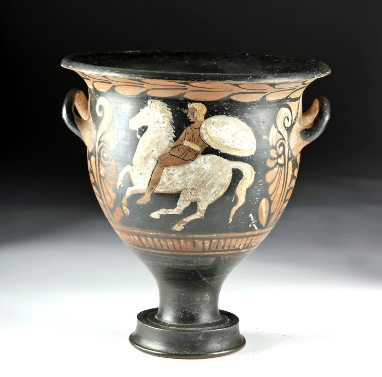 Lot 27a - Campanian Bell Krater, AV Grp Painter, ex-Royal Athena