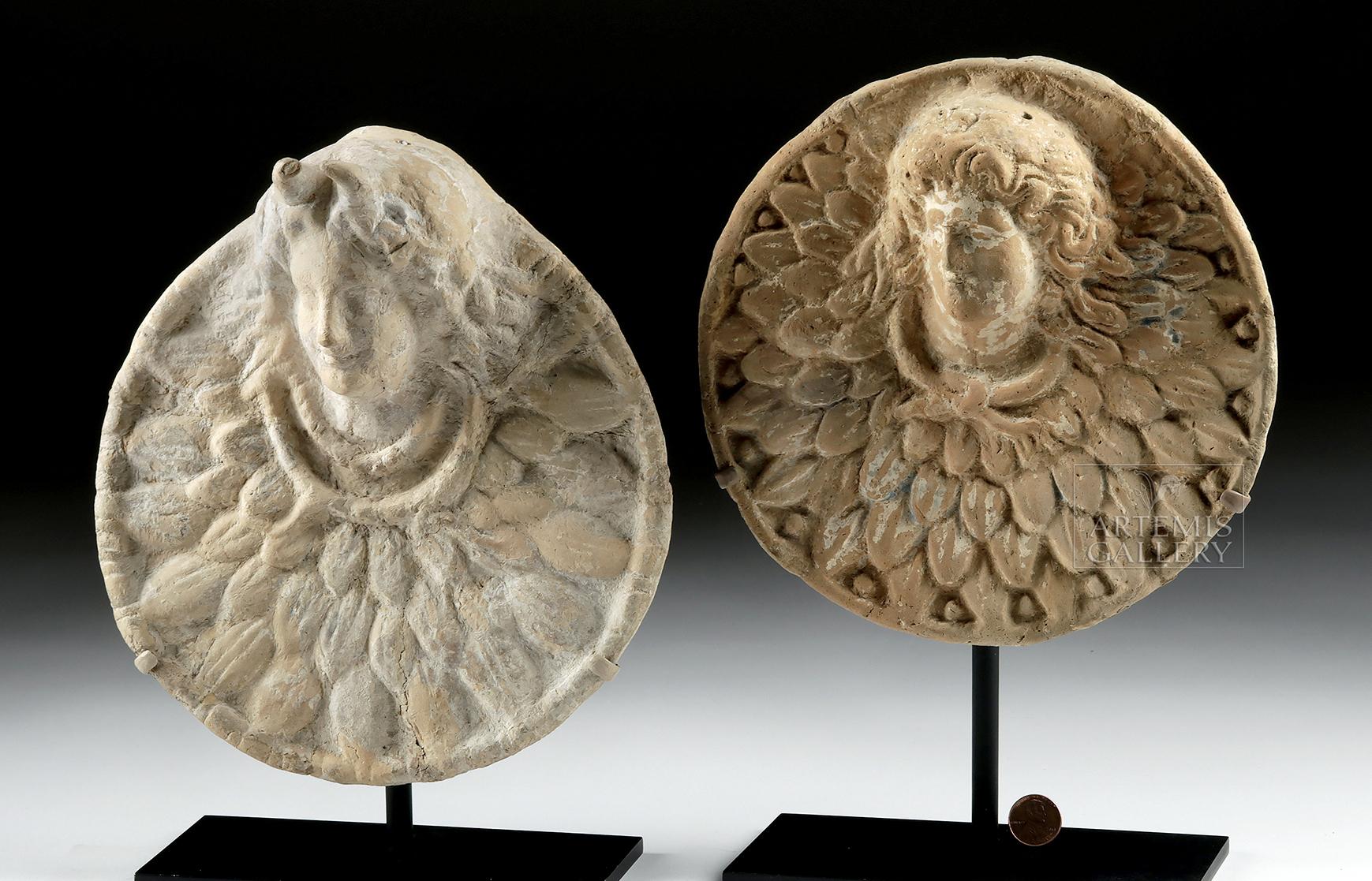 Lot 26c - Published Greek Hellenistic Pottery Roundels TL'd (pr)