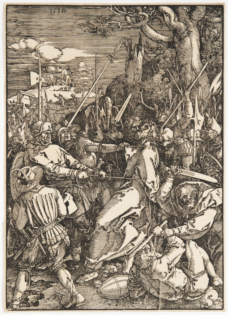 Lot 9 - ALBRECHT DÜRER 1471 - 1528: THREE PRINTS FROM A SERIES OF TWELVE ILLUSTRATIONS OF THE PASSION 1510