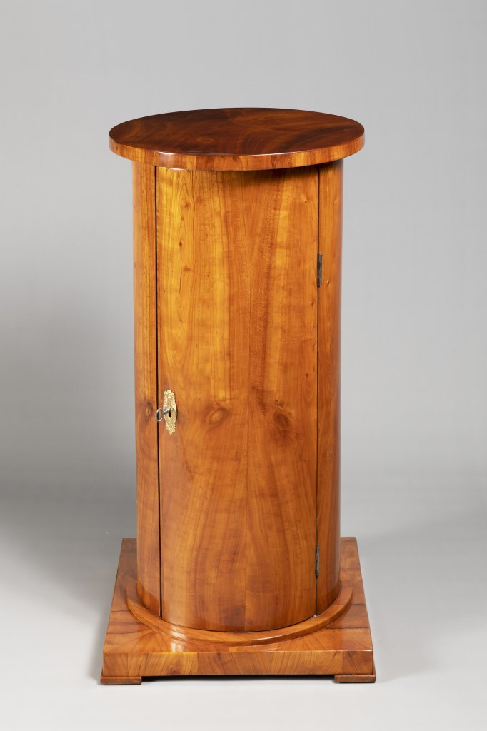 "Lot 57 - A ""SOMNO"" NIGHTSTAND FROM THE BIEDERMEIER PERIOD First third of 19th century Bohemia Cherry wood"