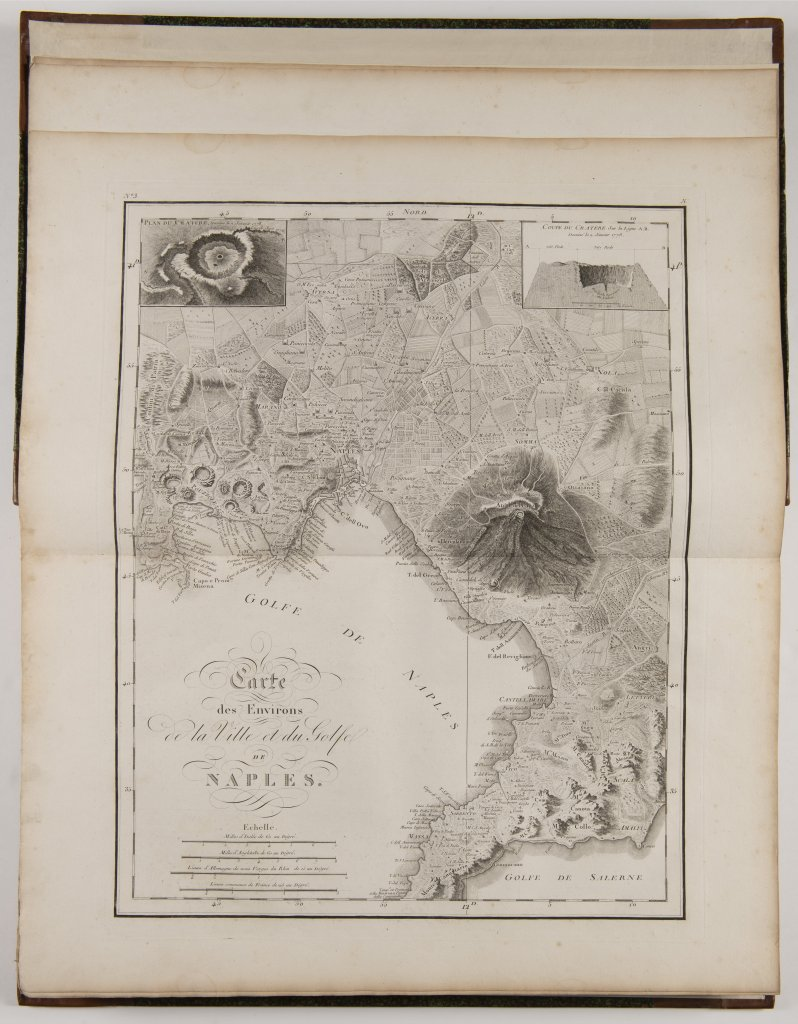 Lot 5 - JEAN CLAUDE RICHARD DE SAINT NON 1727 - 1791: VOYAGE PITTORESQUE A NAPELS ET EN SICILE. 1829