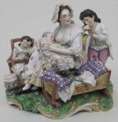 Figurengruppe 'Die gute Mutter' / A figural group 'La bonne mère', Carl Gottlieb Lück,
