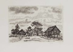 Wilhelm Giese(Horn/ Lippe 1883 - 1945 Wegeleben, deutscher Maler, Zeichner u. Radierer, Std. a.d. KS