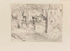 Rudolf Großmann(Freiburg 1882 - 1941 ebenda, deutscher Maler u. Grafiker, Studienreisen nach