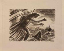Frans Masereel(Blankenberghe/ Belgien 1889 - 1972 Avignon, Maler, Grafiker u. Illustrator, Std. a.d.