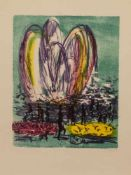 Gerhard Floß(Glauchau 1932 - 2009 Schwerin, deutscher Maler u. Grafiker, Std. a.d. AK Dresden, lebte