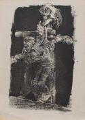 Bernhard Heisig(Breslau 1925 - 2011 Leipzig, deutscher Maler, Zeichner, Illustrator u. Grafiker,