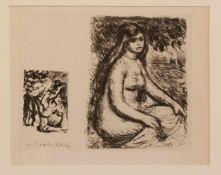Auguste Renoir(Limoges 1841 - 1919 Cagnes-sur-Mer, französischer Maler des Impressionismus, späte
