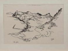Theo Pfeil(Düren/ Rheinland 1903 - ?, deutscher Maler u. Grafiker, zahlreiche Reisen, lebte in