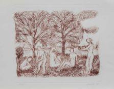 Annegret Goebeler(Lüssow 1943 -, Malerin u. Grafikdesignerin, Std. a. d. FS Heiligendamm, Mitglied