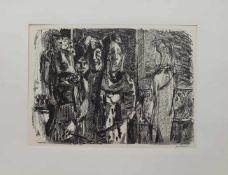 Wilhelm Grimm(Eberstadt 1904 - 1986 Hamburg, deutscher Maler u. Grafiker, Std. a.d.
