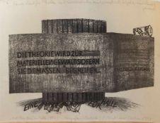 Ernst Werner Schulze(Dessau 1927 - 2005 Halle, deutscher Grafiker, Std. am Institut f. künstlerische