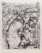 Gerhard Reinisch(Bernburg 1936 -, deutscher Maler u. Grafiker, Std. a.d. FS f. angewandte Kunst