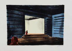 Thomas Huber(Zürich 1955 -, Maler u. Grafiker, Std. a.d. Kunstgewerbeschule Basel, in London u. a.d.