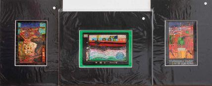 Friedensreich Hundertwasser(Wien 1928 - 2000 Auckland/ Neuseeland, bedeutender österreichischer