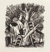 Lothar Sell(Treuenbrietzen 1939 - 2009 Meißen, deutscher Grafiker, Illustrator u. Keramiker, Std.