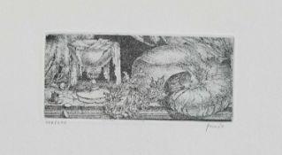 Heinz Zander(Wolfen 1939 -, deutscher Maler u. Grafiker, Std. a.d. HS für Grafik u. Buchkunst/