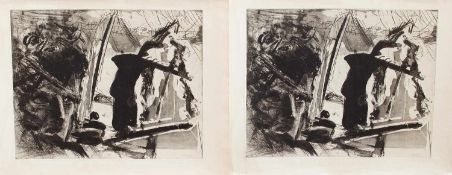 Martin Wilke(Großschönebeck 1956 -, deutscher Bildhauer u. Grafiker, Std. a.d. KHS Berlin -