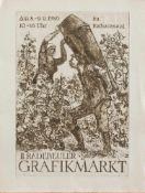 Johannes Thaut(Radebeul 1921 - 1987 ebenda, deutscher Maler u. Grafiker)Plakatentwurf, II.