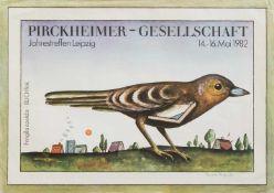 Renate Herfurth(Guben 1943 - 2009 Leipzig, deutsche Grafikerin, Buchgestalterin u. Illustratorin,