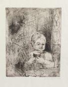 Claus Weidensdorfer(Coswig 1931 -, deutscher Maler u. Grafiker, Std. a.d. HS f. Bildende Künste