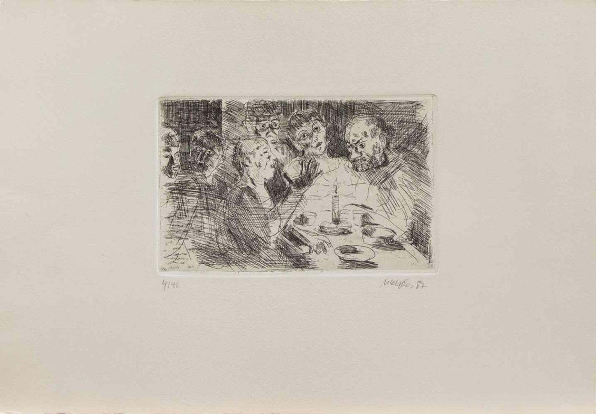 Harald Metzkes(Bautzen 1929 -, deutscher Maler u. Graphiker, Std. a.d. AK Dresden u. Berlin bei Otto