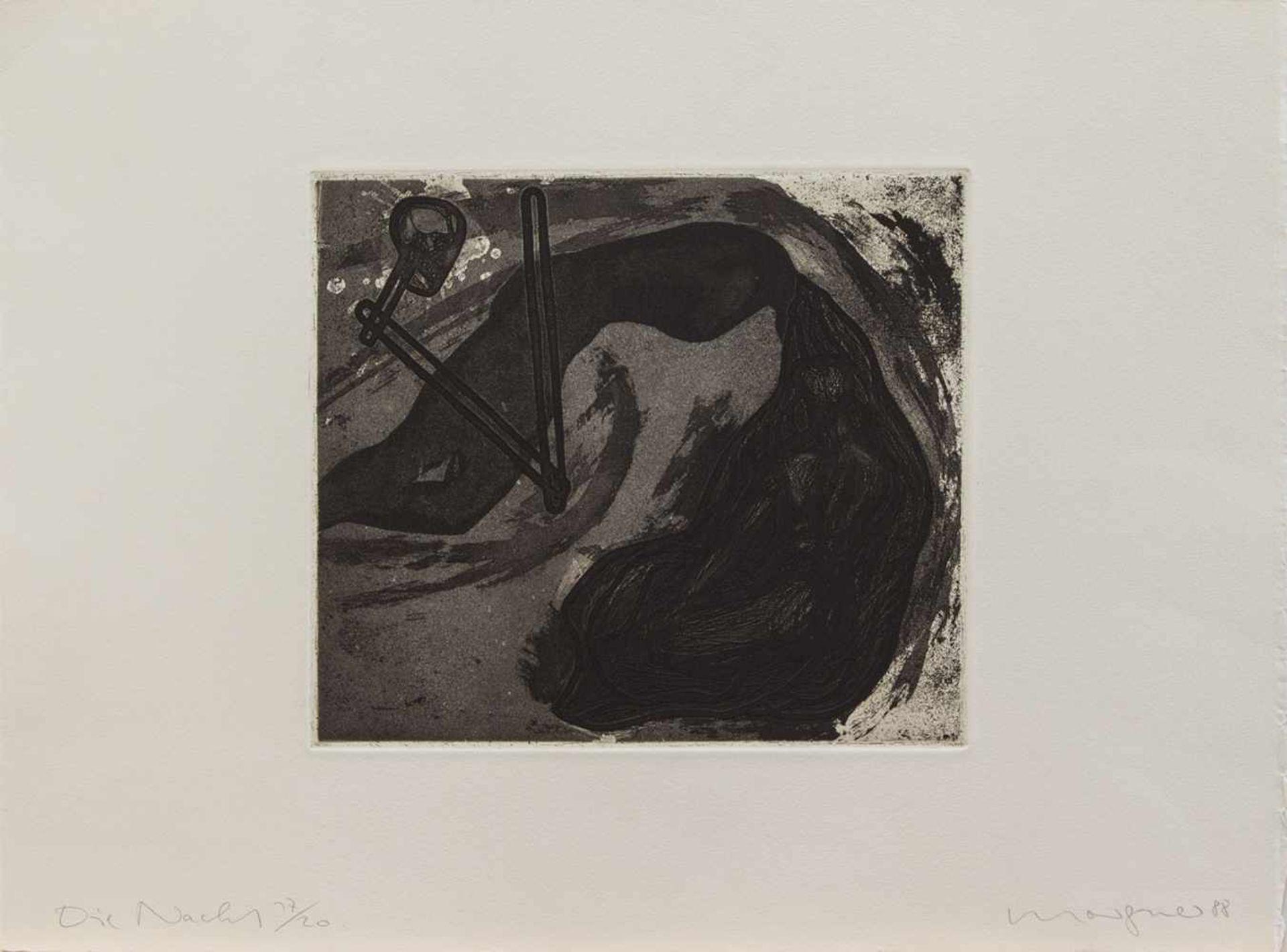 Michael Morgner(Chemnitz 1942 -,deutscher Künstler, Std. a.d. HS f. Grafik u. Buchkunst Leipzig,