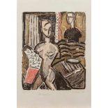 Karin Sakrowski(Berlin 1942 -, deutsche Künstlerin, Std. a.d. KHS Berlin Weißensee, lebt u. arbeitet