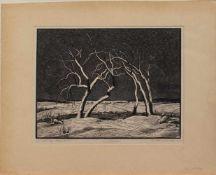 Karl Hennemann(Waren 1884 - 1971 Schwerin, Studium an den Akademien Berlin und München, in Berlin