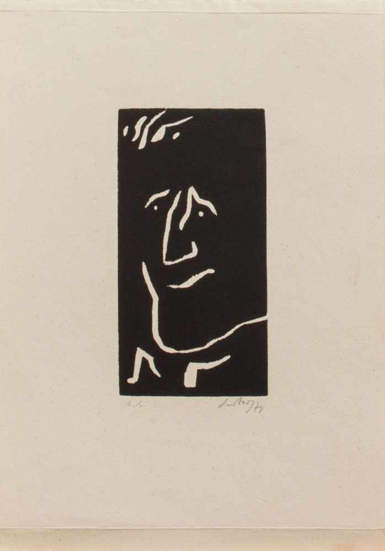 Herbert Sandberg(Posen 1908 - 1991 Berlin, deutscher Grafiker, Illustrator, Karikaturist u.