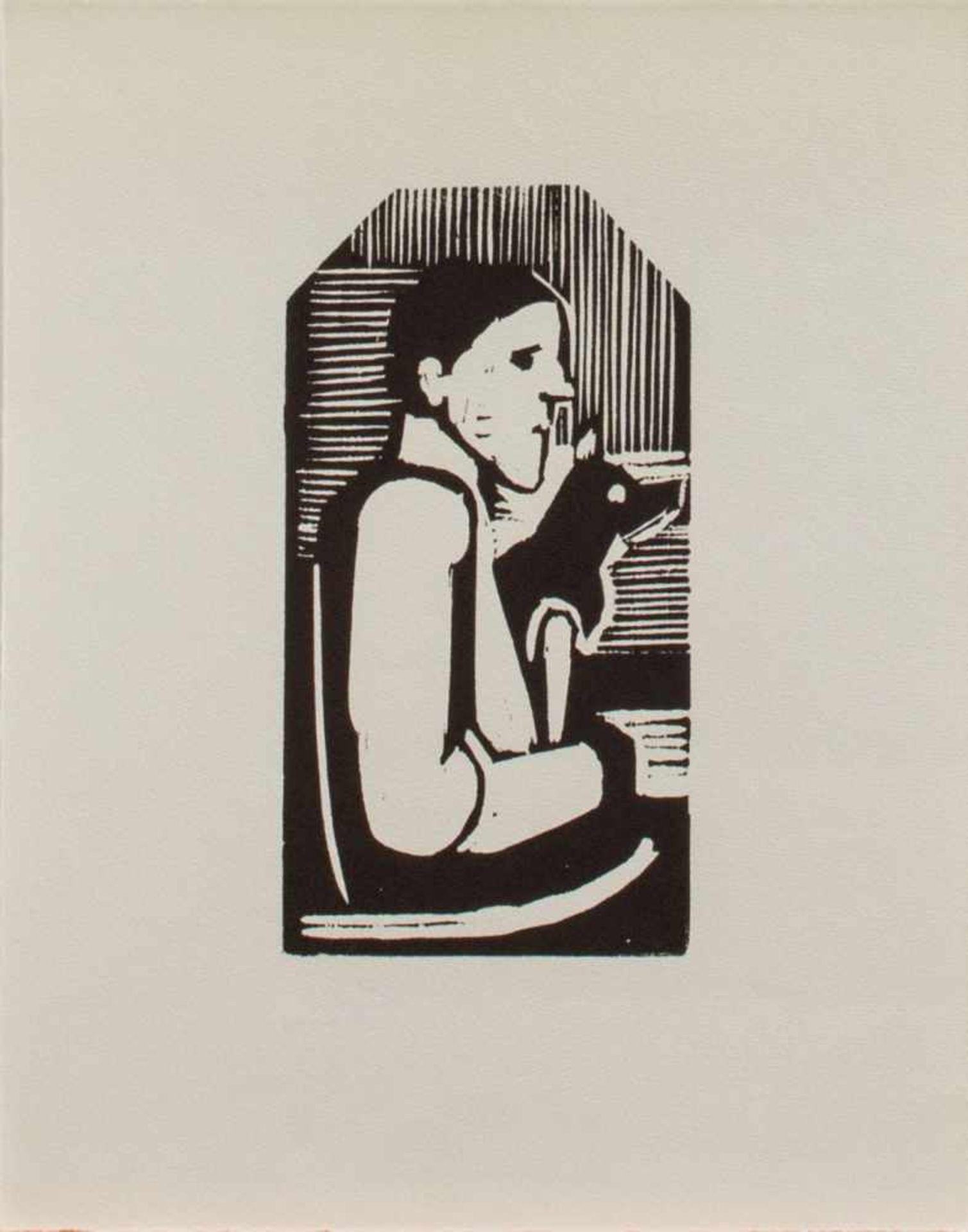 Wilhelm Lachnit(Gittersee 1899 - 1962 Dresden, Maler u. Grafiker, Std. a.d. KGS Dresdner u. a.d.