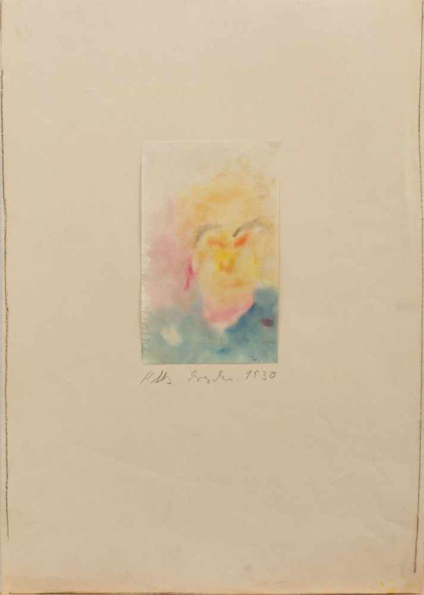 Kate Diehn-Bitt(Berlin 1900 - 1978 Rostock, Std. a. d. AK Simson-Castelli Dresden, seit 1931 in