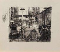 Friedrich Wilhelm Fretwurst(Ahrenshoop 1936 -, deutscher Maler u. Grafiker, Std. i. Greifswald u.