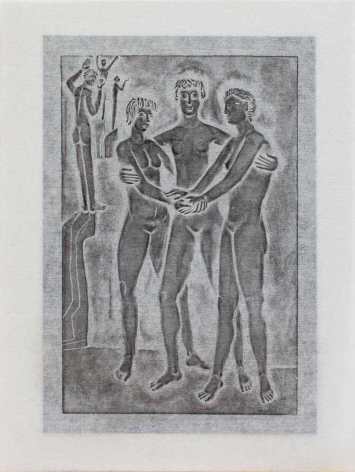 Karl Müller(Bittkau 1929 - ? Salzwedel, deutscher Gebrauchsgrafiker, Std. a.d. FS f. angewandte