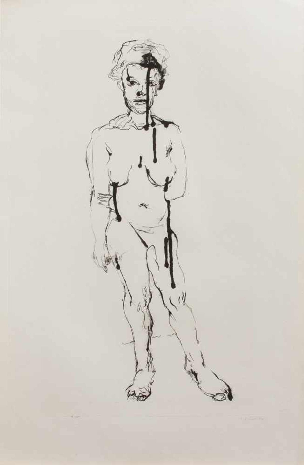 Sabina Grzimek(Rom 1942 -, Malerin u. Grafikerin, Std. a.d. KHS Berlin-Weißensee, freischaffend in