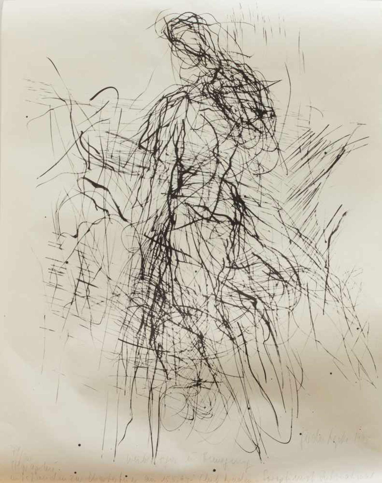 Gerda Lepke(Jena 1939 -, deutsche Malerin u. Grafikerin, Std. a.d. HS f. Bildenden Künste Dresden,