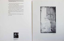 Sascha Juritz(Rietschen 1939 - 2003 Frankfurt/ Main, deutscher Maler, Grafiker, Bildhauer u.