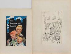 Georg Andreas Speck(Magdeburg 1904 - 1976 ebenda, deutscher Maler u. Grafiker, Std. a.d.