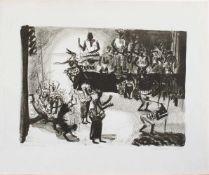 Thea Kowar(Ringenhain/ Lausitz 1945 -, deutsche Malerin, Grafikerin u. Buchillustratorin, Std. a. d.