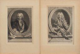 Diverse KupferstecherCharles Dupuis 1685 - 1742/ J.P. Le Bas 1707 - 1783/ Jean Gotthard (von) Müller