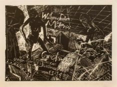 Wolfgang Tietze(Leipzig 1954 -, deutscher Maler u. Grafiker, Std. a.d. HS f. Grafik u. Buchkunst