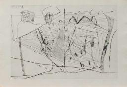 Joachim Böttcher(Oberdorla 1946 -, Maler, Grafiker u. Bildhauer, Studium a. d. HS für Bildende
