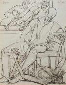 Franziskus Dellgruen(Köln 1901 - 1984 Berlin, deutscher Maler u. Grafiker d. Moderne, Studium a.