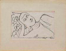 Adolf Friedrich Bechly(Hamburg 1918 - 2005, deutscher Figuren- u. Landschaftsmaler, i. d.
