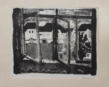 Otto Birg(Durdevac/ Jugoslavien 1926 - 2015, deutscher Maler, Zeichner u. Bildhauer, Std. a.d. KA