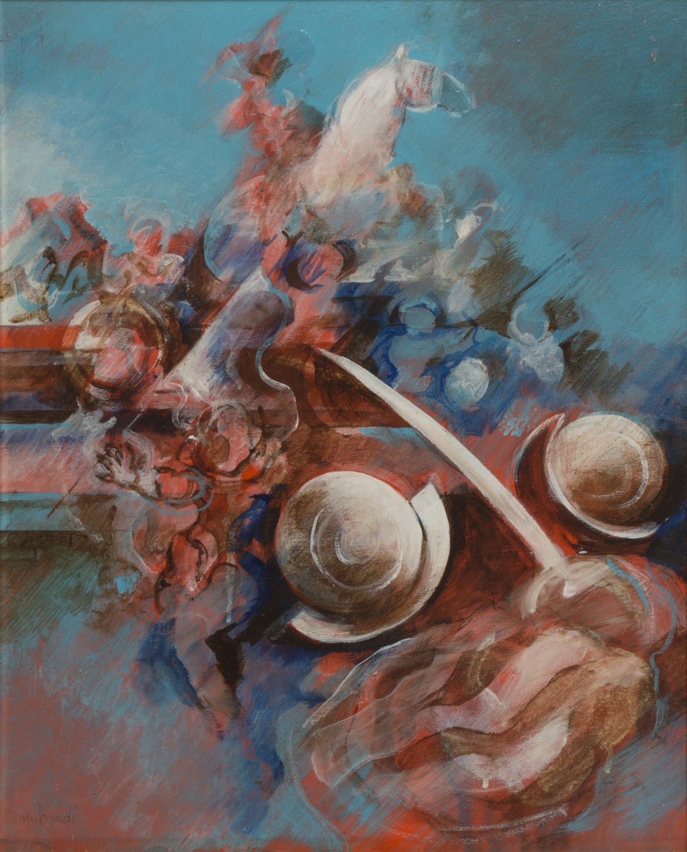 Lot 20 - MARIO BARDI (Palermo 1922 - Milano 1998) Particolare di una battaglia barocca